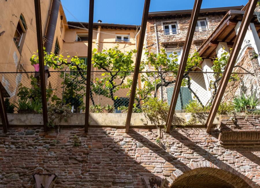 pergolato di SurReale a Lucca