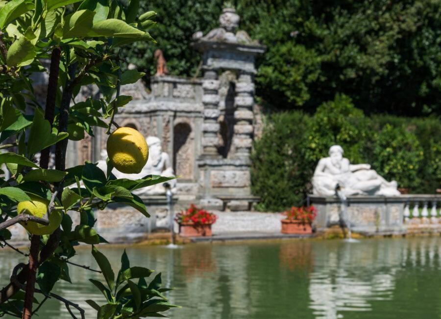 Giardino dei Limoni e Peschiera - Villa Reale di Marlia